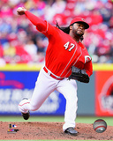 Johnny Cueto 2014 Action Photo