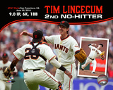 Tim Lincecum throws his 2nd No-Hitter against the San Diego Padres at AT&T Park on June 25, 2014 Photo