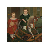 The Hobby Horse, ca. 1840 Giclee Print by Robert Peckham