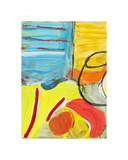 Glass Bowl by the Beach Window Giclee Print by Joan Davis