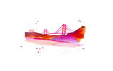 SF Giclee Print by Jessica Durrant