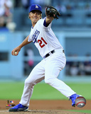 Zack Greinke 2014 Action Photo