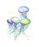 Herd of Jelly Giclee Print by Jessica Durrant