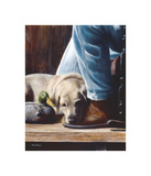 Resting Spot Giclee Print by Kevin Daniel