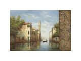 Canal II Giclee Print by  Aretino