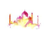 India Dreams Reproduction procédé giclée par Jessica Durrant