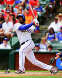 Elvis Andrus 2014 Action Photo