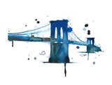 Brooklyn Blues Giclee Print by Jessica Durrant