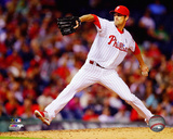 Cole Hamels 2014 Action Photo