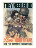Plant More Beans Stampe