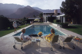A desert house in Palm Springs designed by Richard Neutra for Edgar J. Premium Photographic Print by Slim Aarons