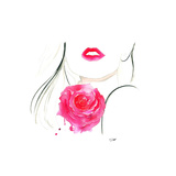 Rouge in Love Giclee Print by Jessica Durrant