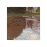 Tranquil Pond Giclee Print by Gustav Klimt