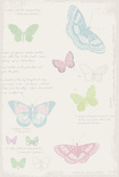 Butterfly Diary Prints by Maria Mendez