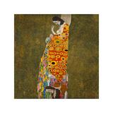 La esperanza II Lámina giclée por Gustav Klimt