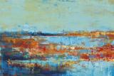 Shoreline Glimmer I Art by Georges Generali