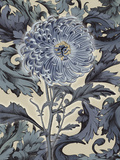 Indigo Deco Flower I Prints by Emma Hill