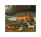 Noah's Ark, 1846 Giclee Print by Edward Hicks