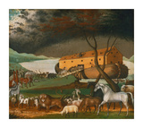 Noah's Ark, 1846 Giclee Print by Edward Hicks