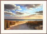 Sunset Beach Prints by Daniel Pollera