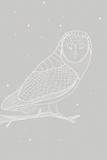 Day Owl Schilderij van Myriam Tebbakha