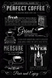 Good Coffee Guide Poster by Tom Frazier