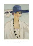 Lady with Beads, 1923 Affiche par Kees van Dongen