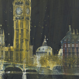 From the River - London Posters by Susan Brown