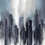 Towering Metro I Poster by Kris Hardy