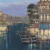 Riviera Twilight Plakaty autor Mario Sanzone