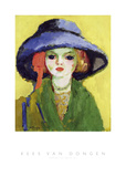 Portrait of Dolly, 1911 Prints by Kees van Dongen