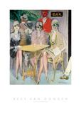 The Cairo Bar, 1920 Posters par Kees van Dongen