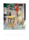 The Cairo Bar, 1920 Pósters por Kees van Dongen