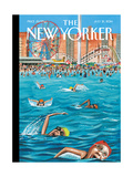 Coney Island - The New Yorker Cover, July 21, 2014 Regular Giclee Print by Mark Ulriksen