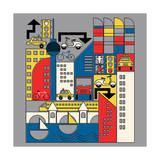 Bauhaus Berlin Giclee Print