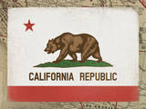 California Flag Giclee Print by Ken Hurd