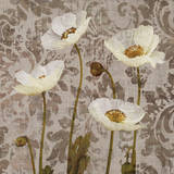 Damask Blooms III Giclee Print by Tania Bello