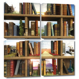 Story World 4 piece gallery-wrapped canvas Posters by Cynthia Decker