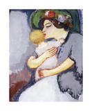 My Child and Her Mother, 1908 Premium Giclee Print by Kees van Dongen