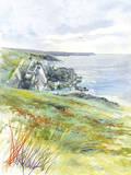 Porthclais Giclee Print by Ken Hurd