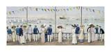 An Edwardian Season - Cowes Regatta Premium Giclee Print by John S. Goodall