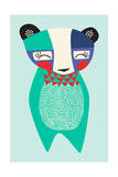 Bauhaus Bear Giclee Print