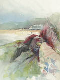 Morfa Nefyn Giclee Print by Ken Hurd