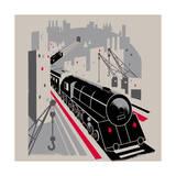 Bavarian Railway Giclee Print
