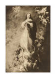 The Immaculate Conception Premium Giclee Print by Bartolome Esteban Murillo