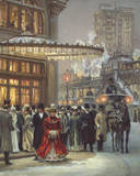 Evening Performance Giclee Print by Alan Maley