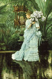 Girl with Lilac Giclee Print by James Tissot