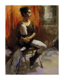 The Audition Premium Giclee Print by Harley Brown