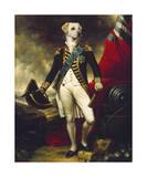 Le Marquis de Retriever Giclee-tryk i høj kvalitet af Thierry Poncelet