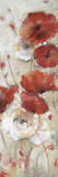 Poppies Afield II Giclee Print by  Bridges